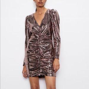 Zara Mini Sequin Dress